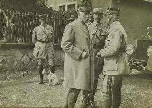 La visite du Général Pétain le 13 septembre 1917 à Montreux-Vieux