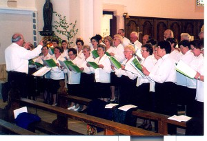 La chorale Sainte Cécile de Montreux-Vieux