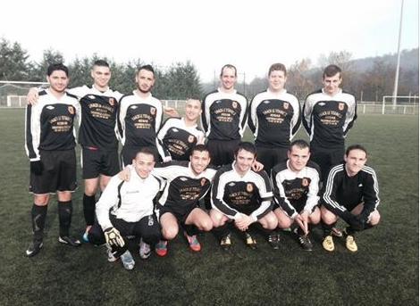 Une des équipe de foot de Montreux-Sports