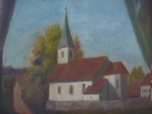 L'ancienne église de Montreux-Vieux