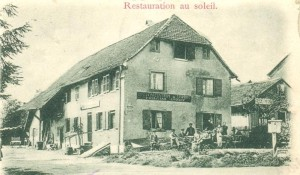 Le Restaurant Au Soleil à Montreux-Vieux
