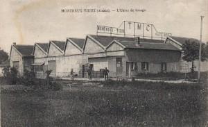 La première filature à Montreux-Vieux