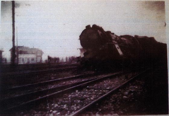 accident de chemin de fer à Montreux-Vieux le 11 décembre 1946 -