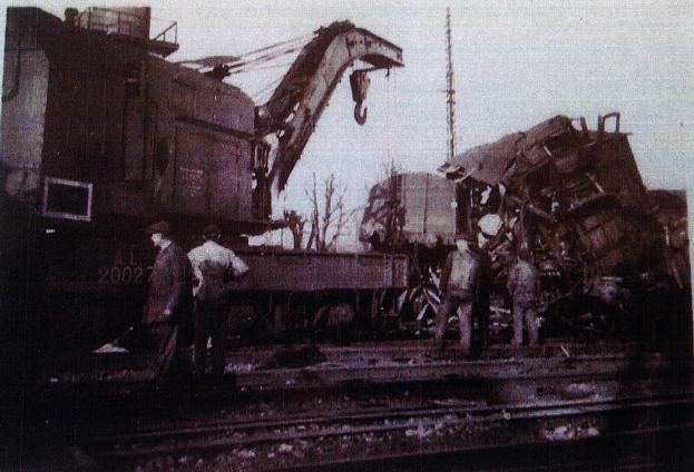 Un accident de chemin de fer à Montreux-Vieux le 11 décembre 1946 -