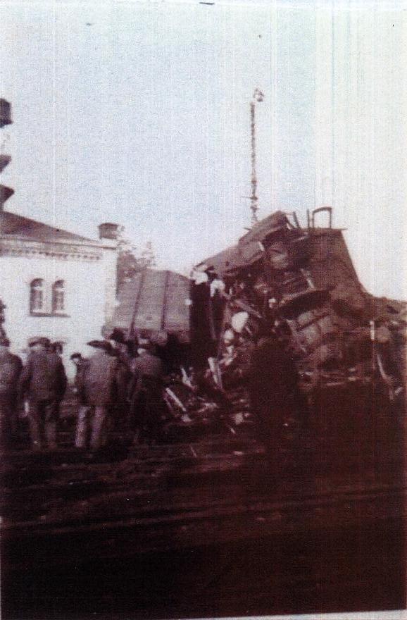 Un très grave accident de chemin de fer à Montreux-Vieux le  11 décembre 1946