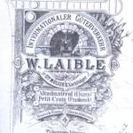 Laible Entreprneur de transport à Montreux-Vieux