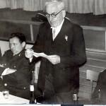 Allocution du maire Seiler A. lors de la passation de commandement
