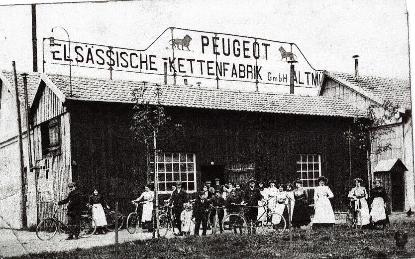 L'Usine Peugeot devenue la Filature T.M.C