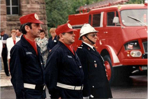 Daniel Bouchonnet, Daniel Cuenin et Joseph Rein