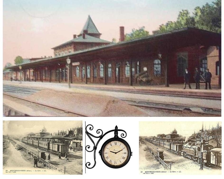La gare de Montreux-Vieux