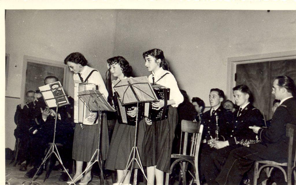 Inauguration de la salle des fêtes en 1959
