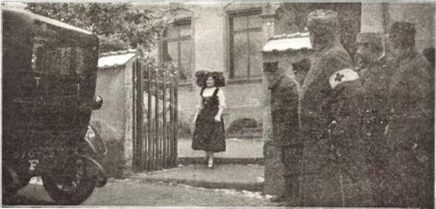 l'Alsacienne le 27 novembre 1914