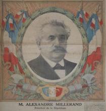 Millerand président de la république