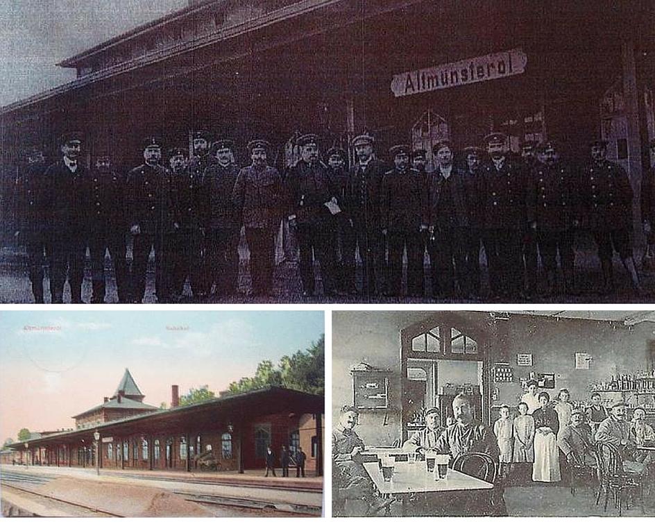 La gare le buffet de la gare de Montreux-Vieux