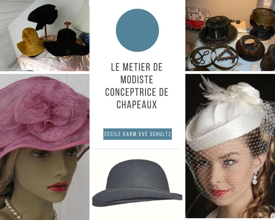 le metier de modiste creatrice de chapeaux-