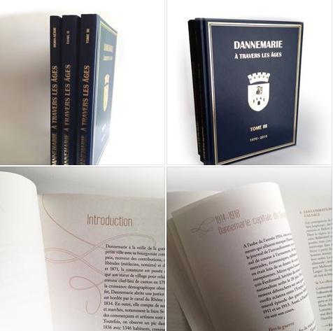 A lire cet été «Dannemarie à travers les âges» Tome I, II et III