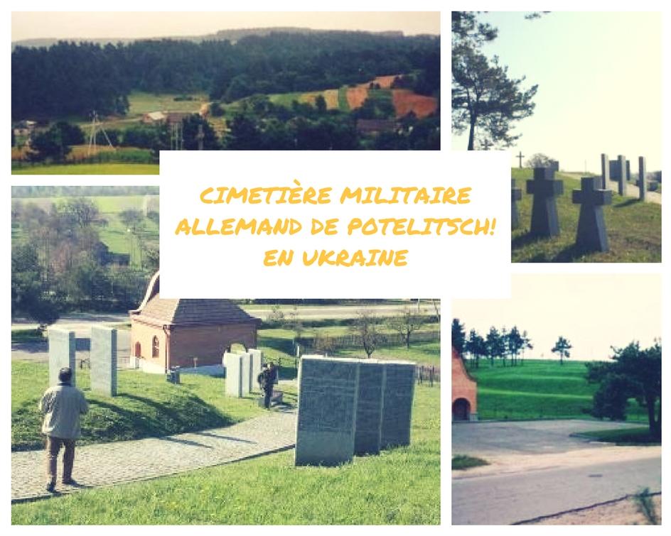 le cimetière militaire allemand de Potelitsch