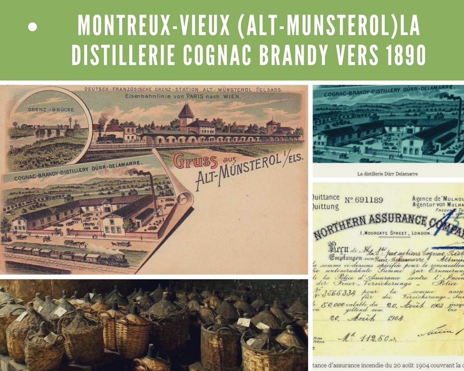 la distillerie cognac-brandy vers1890