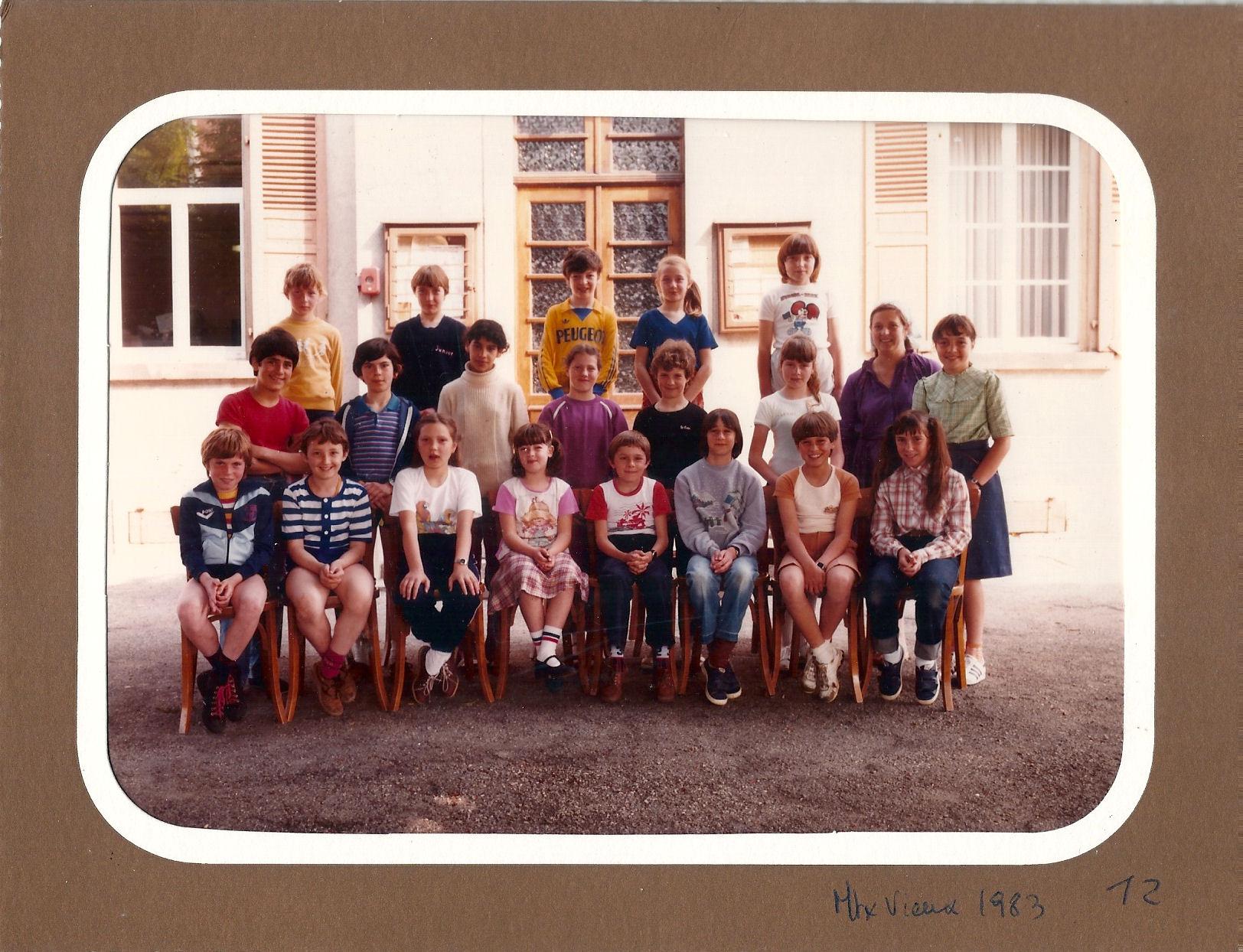 Photo de classe 1983