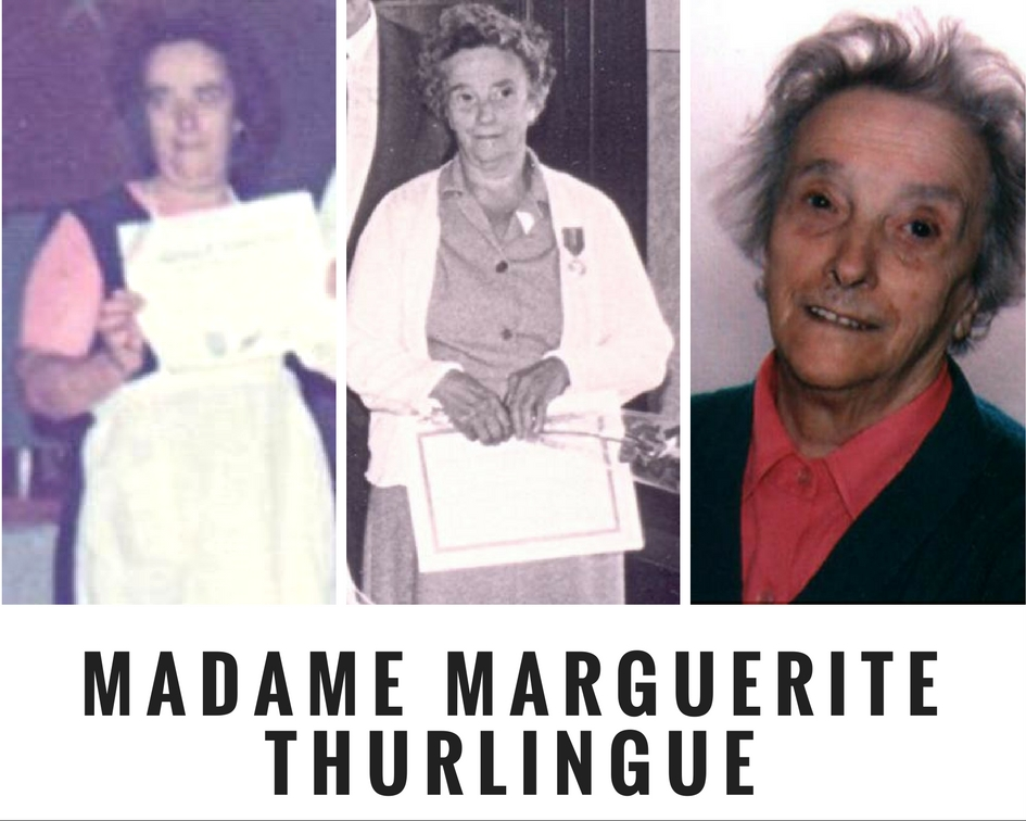 décès de Madame Thurlingue Marguerite