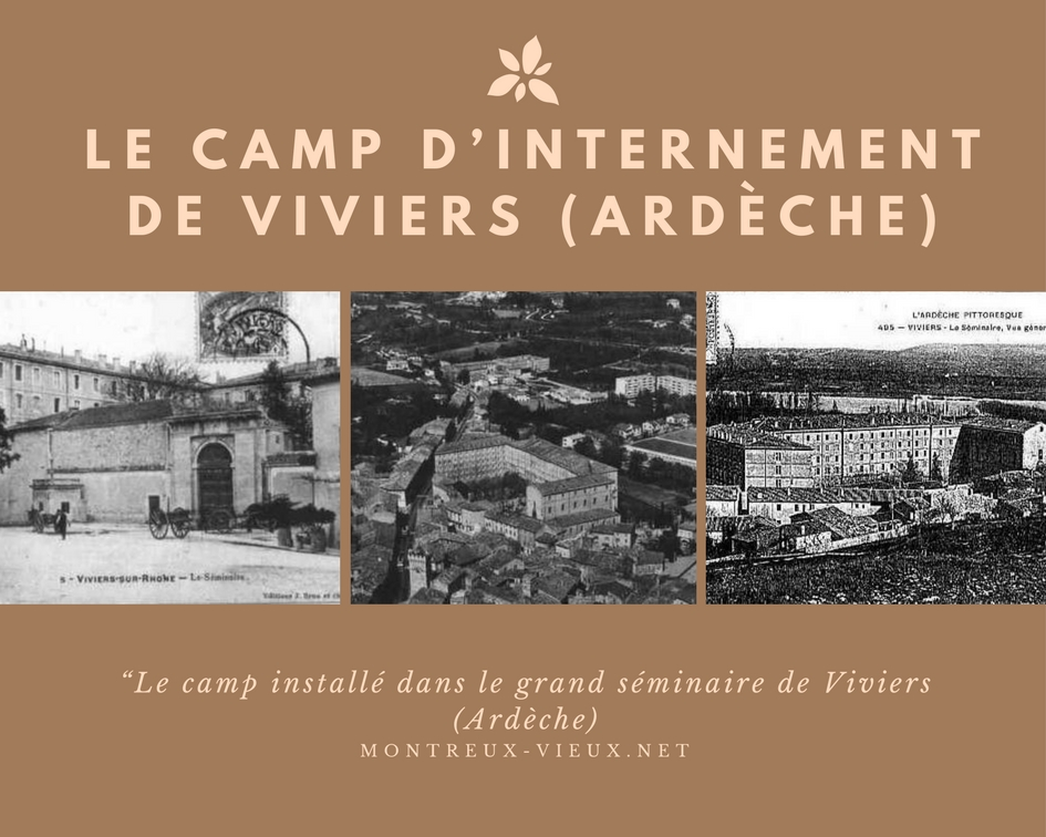 Le camp d'internement de Viviers