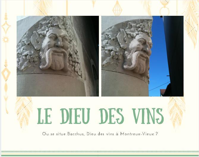 Bacchus le Dieu des vins