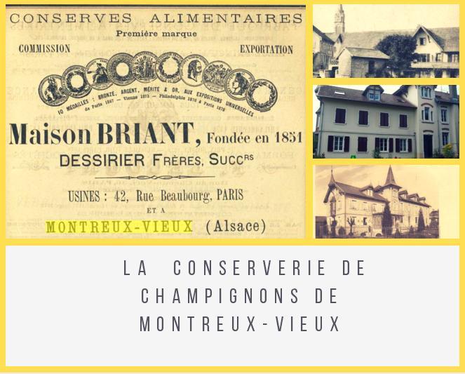 La conserverie de champignons de Montreux-Vieux