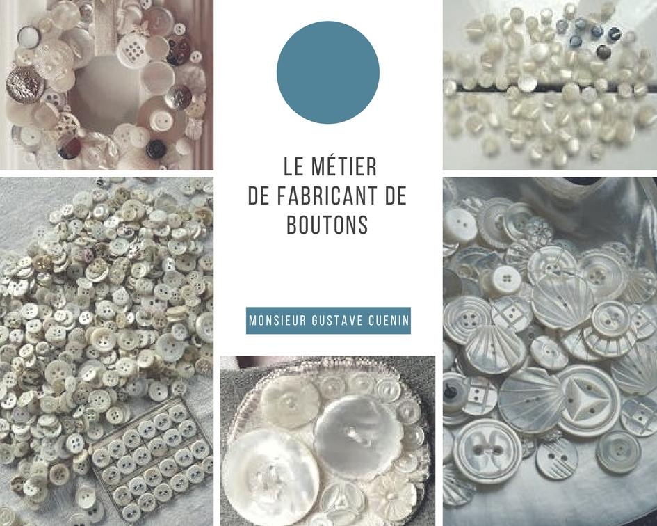 Le saviez-vous ? Il y avait autrefois un fabricant de boutons à Montreux-Vieux