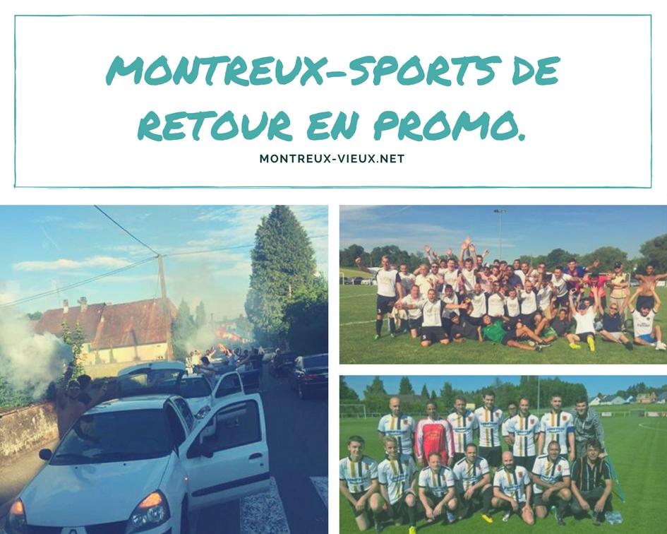 Montreux-Sports de retour en promo !
