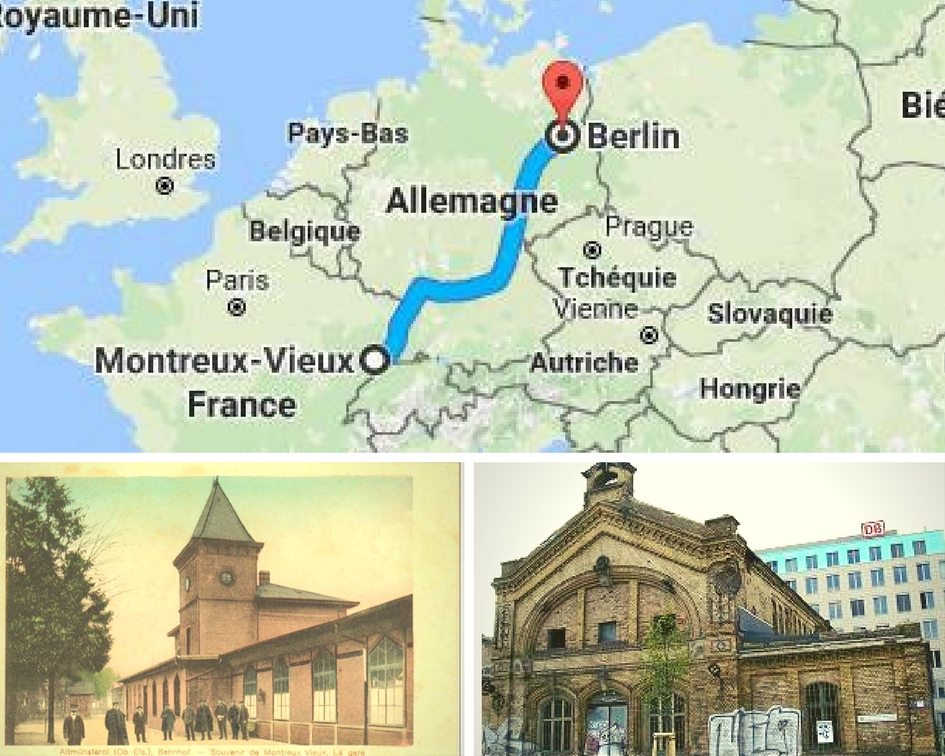 Le saviez-vous? Trains de marchandises entre Montreux-Vieux et Berlin