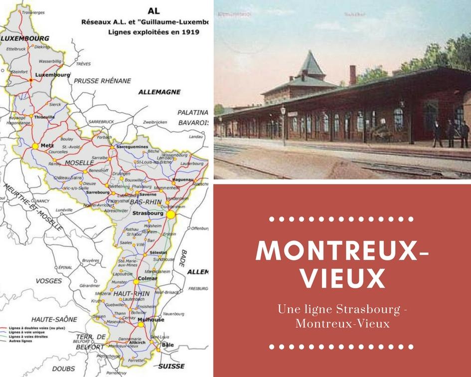 Construction d'une ligne directe de Strasbourg à Montreux-Vieux par Cernay,