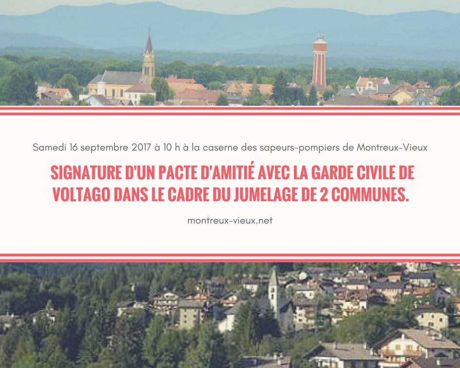 Signature d'un pacte civil Montreux-Vieux-Voltago