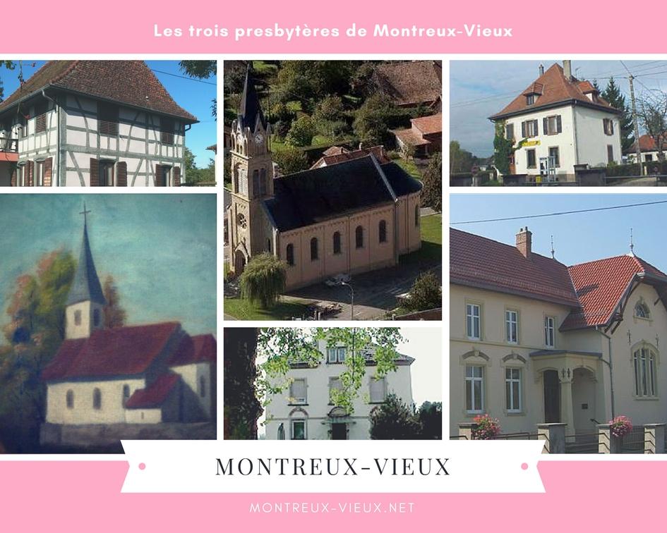 Le saviez-vous ? Il y a 3 presbytères à Montreux-Vieux.