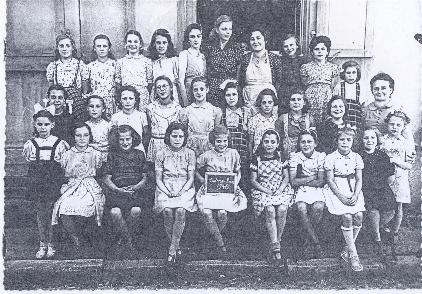 La classe des filles 1948